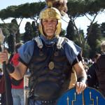 """""""Roman legionary"""" Gabriele - 2012"""